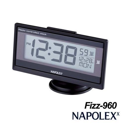 日本NAPOLEX 薄型電波時鐘 Fizz-960