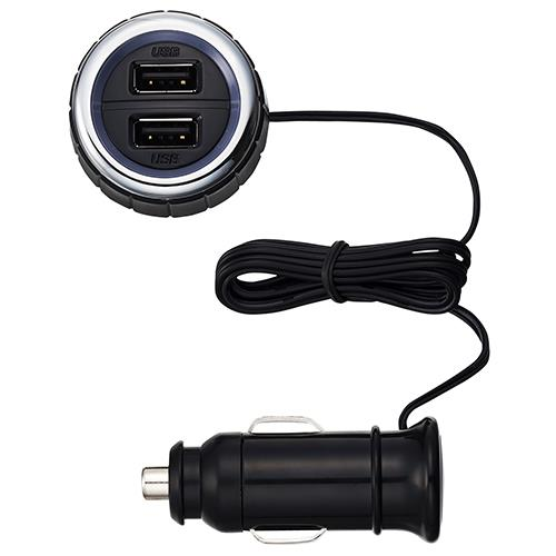 SEIKO 雙USB電源插座4.2A EM-134