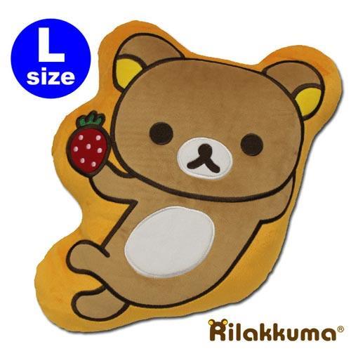Rilakkuma 拉拉熊 草莓系列 造型抱枕(大) RKA-11506