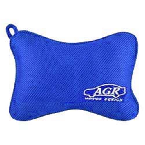 AGR 蝴蝶記憶頭枕 藍色 HY-920BL