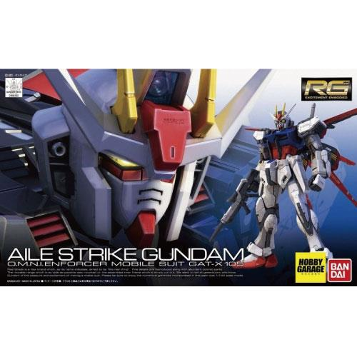【預購】RG 1/144 #03 鋼彈SEED GAT-X105 翔翼攻擊鋼彈