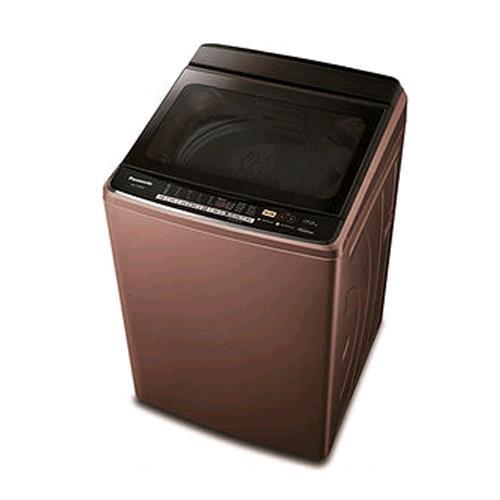 PANASONIC 直立式變頻17公斤洗衣機(晶燦棕) NA-V188DB-T