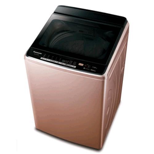 Panasonic  直立式變頻15公斤洗衣機(玫瑰金) NA-V168DB-PN