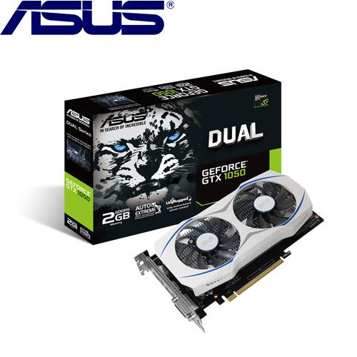 【限時搶購】ASUS華碩 GeForce DUAL-GTX1050-2G 顯示卡