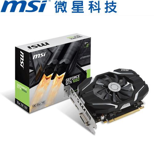 MSI微星 GeForce® GTX 1050 2G OC 顯示卡
