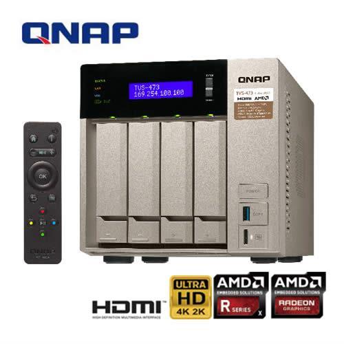 QNAP威聯通 TVS-473-64G 4Bay網路儲存伺服器