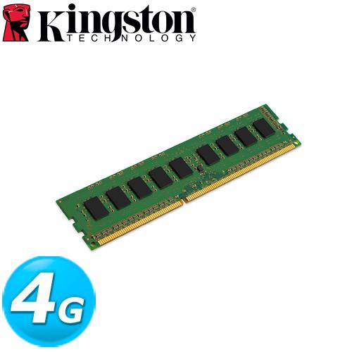 Kingston金士頓 DDR4-2133 4GB 桌上型記憶體 (1Rx16)