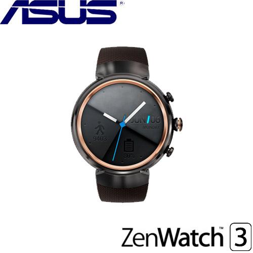 ASUS華碩 ZenWatch 3 智慧型手錶 煙燻黑