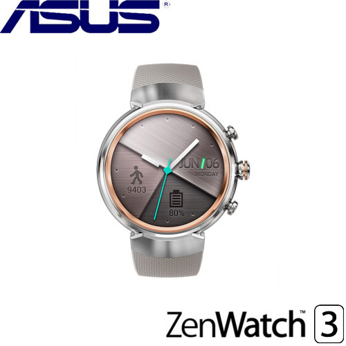 ASUS華碩 ZenWatch 3 智慧型手錶 象牙白