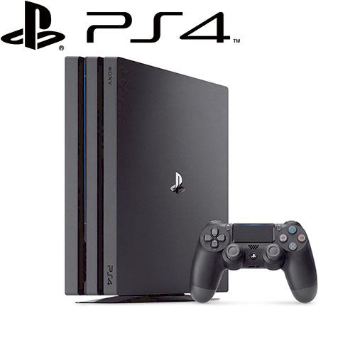 SONY 新力 PS4 PRO 主機 CUH-7117 系列 1TB 極致黑