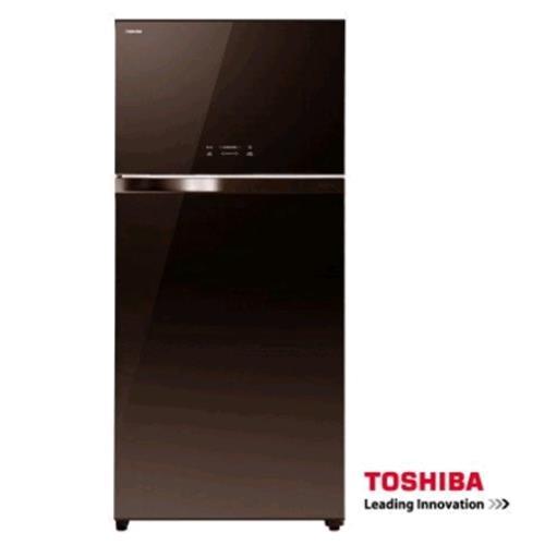 TOSHIBA 東芝608L二門玻璃鏡面ECO節能系列冰箱 GR-WG66TDZ(PGB)
