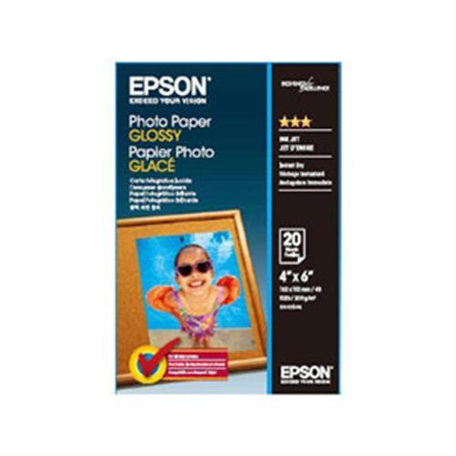 【兩件8折】EPSON S042546 4x6超值光澤相紙