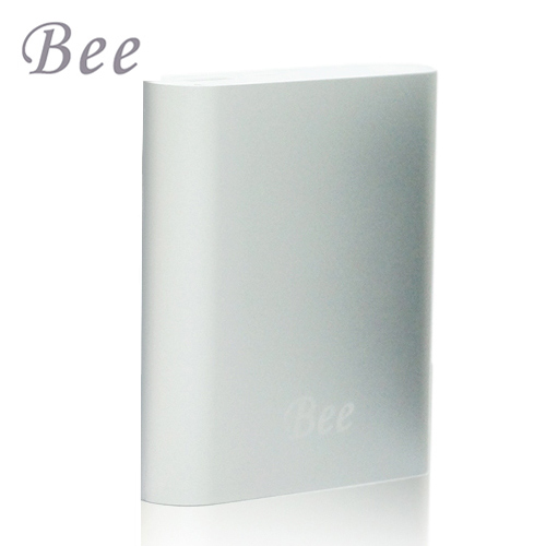 Bee 10400series 金屬質感 簡約設計 行動電源-銀色