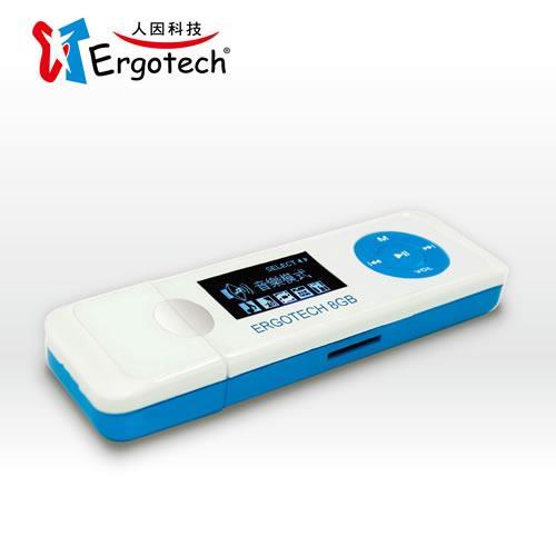 人因 UL432CB 草莓戀人 8GB MP3 PLAYER 星空藍