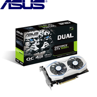 ASUS華碩 GeForce® DUAL-GTX1050TI-O4G-GAMING 顯示卡