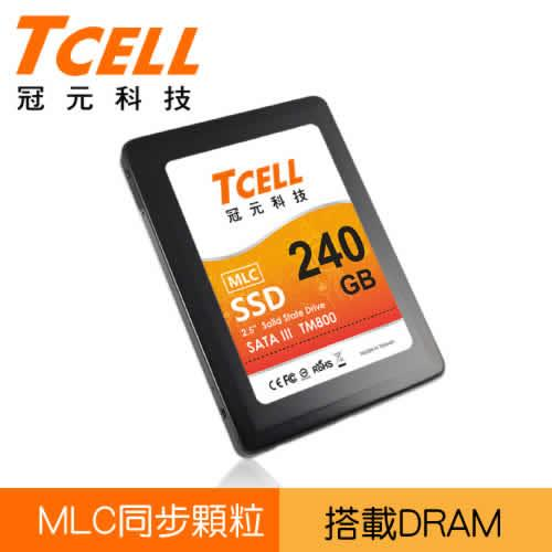 TCELL TM800 2.5吋 240G SSD固態硬碟