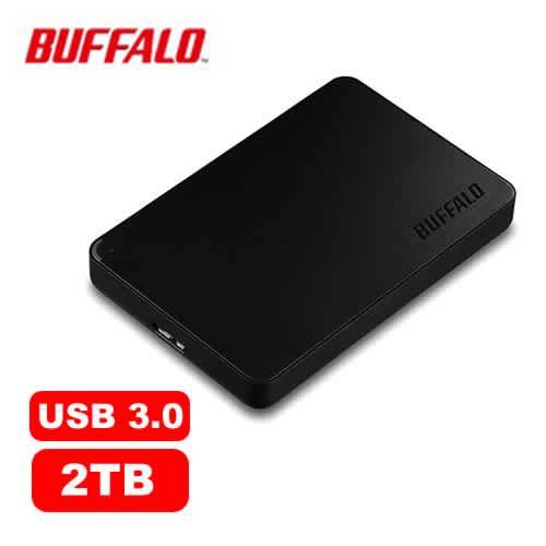 BUFFALO HD-PCF2.0U3BD 2.5吋 2TB -黑