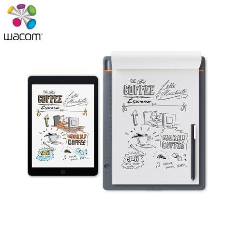 Wacom Bamboo Slate 智慧型手寫板(大) (A4)CDS-810S【送保護套+筆芯3入+威秀電影票乙張】
