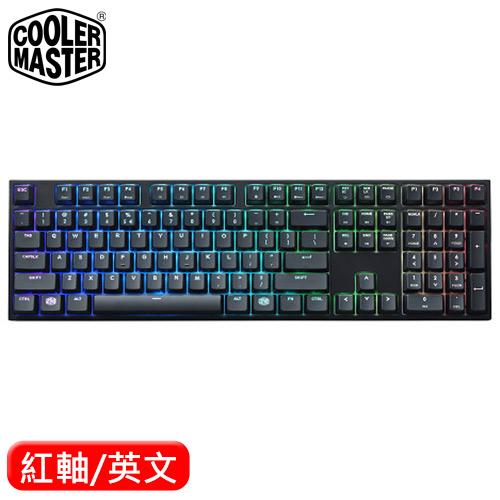 Cooler Master 酷碼 MasterKeys Pro L RGB 機械鍵盤 紅軸
