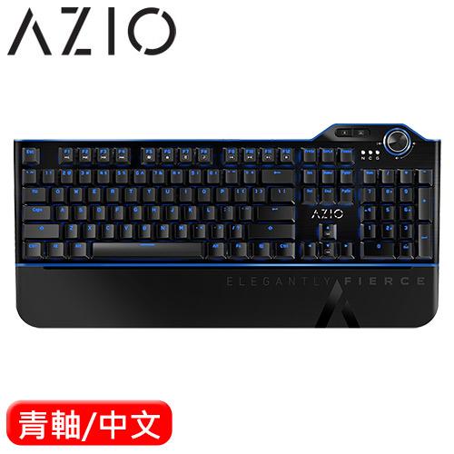 AZIO MGK L80 極電藍 電競機械鍵盤 青軸