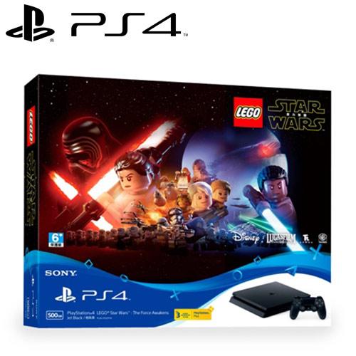SONY 新力 PS4主機 CUH-2017 系列 500GB + 樂高星際大戰:原力覺醒 同捆組