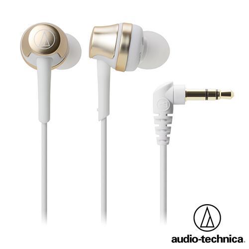 audio-technica鐵三角 ATH-CKR50 耳塞式耳機 (香檳金)