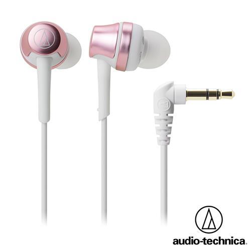 audio-technica鐵三角 ATH-CKR50 耳塞式耳機 (粉紅金)