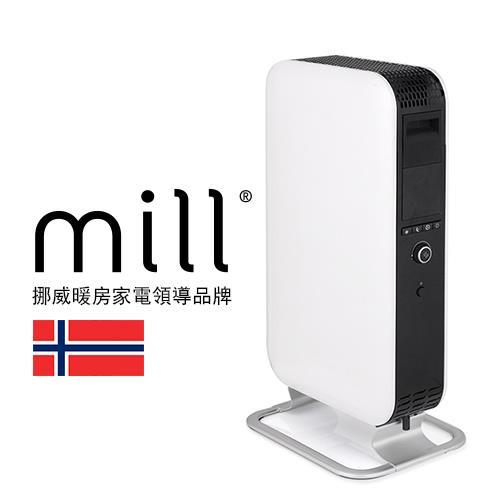 【網購獨享優惠】挪威 mill 葉片式電暖器 AB-H1000DN【適用空間5-7坪】