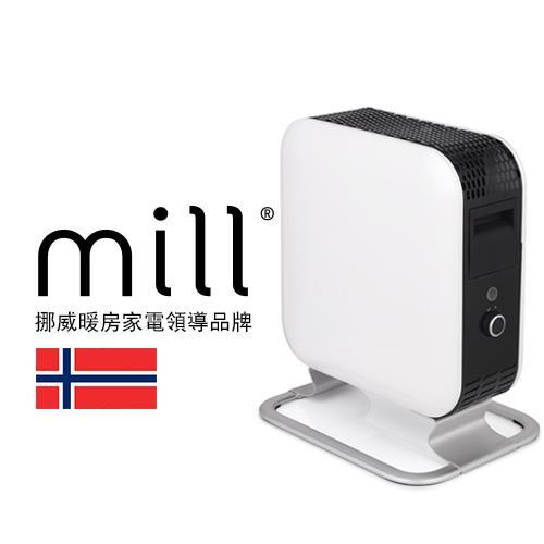 【網購獨享優惠】挪威 mill 葉片式電暖器 AB-H700MINI【適用空間3-5坪】