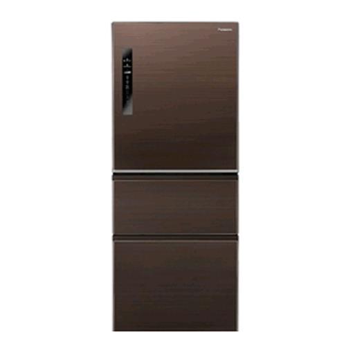 Panasonic  無邊框鋼板500公升三門變頻冰箱  NR-C508NHV-T(咖啡棕)