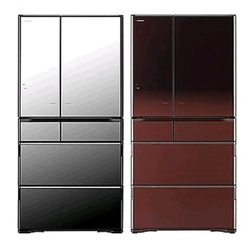 HITACHI 日立RX730GJX(琉璃鏡) 735公升日本原裝進口變頻冰箱 六門