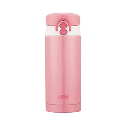 THERMOS 不銹鋼真空保溫瓶(粉桃歐蕾)  JNF-350-PCH