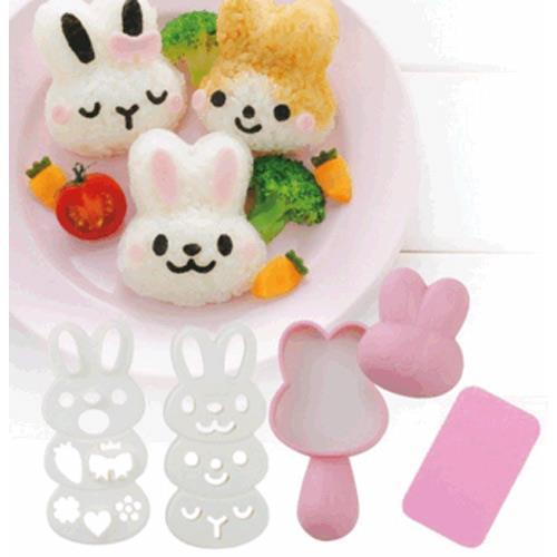Arnest 可愛兔兔飯糰模型  76617