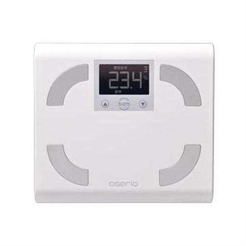 oserio FFP329B 體脂計(白)