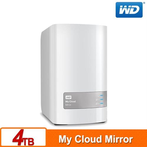 WD My Cloud Mirror(Gen2) 4TB(2TBx2) 雲端儲存系統
