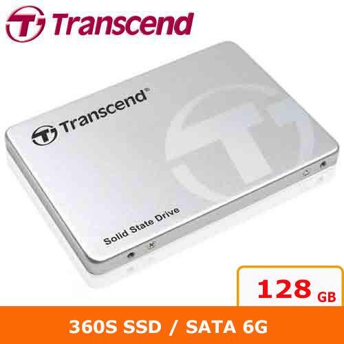 Transcend創見 2.5吋360S 128G SATA3 SSD 固態硬碟