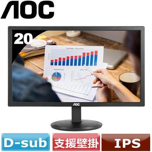 AOC 20型 不閃屏廣視角液晶螢幕 I2080SW