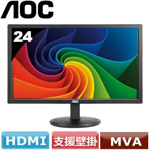 AOC 24型廣視角液晶螢幕 M2470SWH