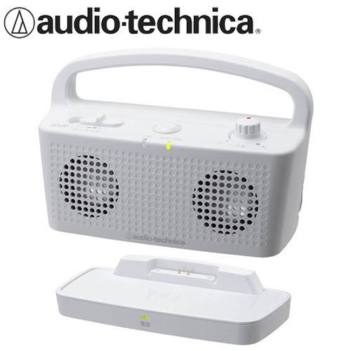 audio-technica 鐵三角 AT-SP767TV 無線立體聲喇叭 白