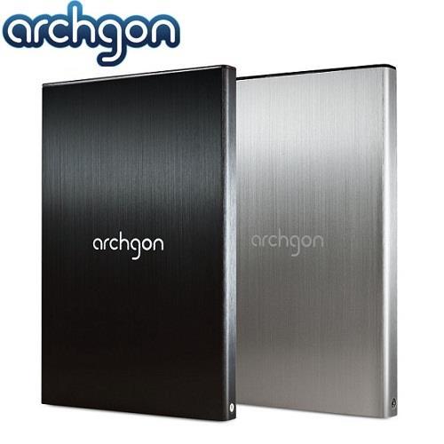 【網購獨享優惠】archgon亞齊慷 2.5吋USB3.0 SATA硬碟外接盒7mm(黑)-MH-2671-U3