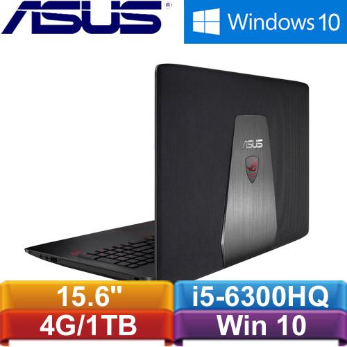 【福利品】ASUS GL552VW-0071A6300HQ 15.6吋電競筆記型