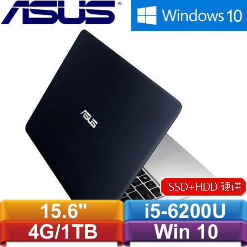 【福利品】ASUS K501UX-0032A6200U 15.6吋筆記型電腦