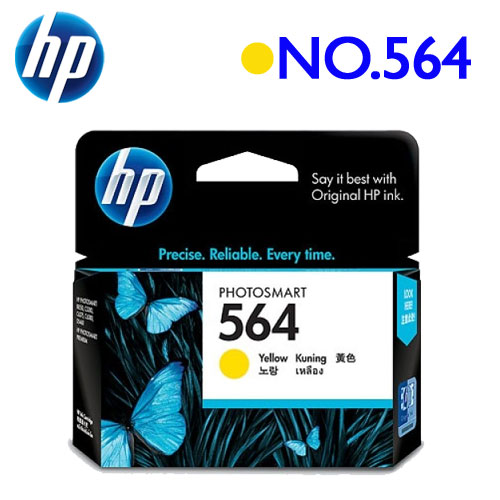 HP NO.564/CB320WA 原廠墨水匣 (黃)