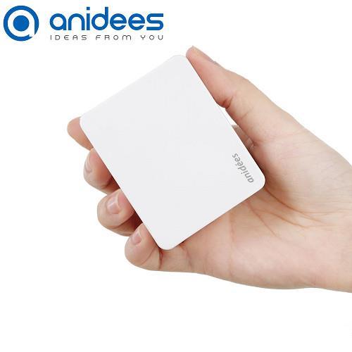anidees 4埠摺疊插頭USB充電器 支援iPhone6快充