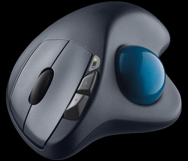 Logitech 羅技 M570無線軌跡球滑鼠 EcLife良興購物網