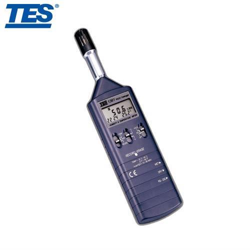 泰仕TES 記憶式溫溼度錶 TES-1361C
