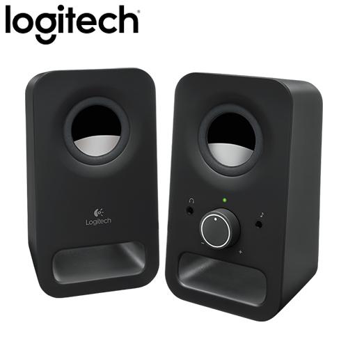 【平價國民款】Logitech 羅技 Z150 2.0聲道 2件式 多媒體喇叭 黑