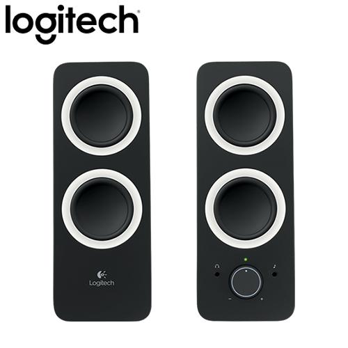 Logitech 羅技 Z200 2.0聲道 多媒體揚聲器 黑