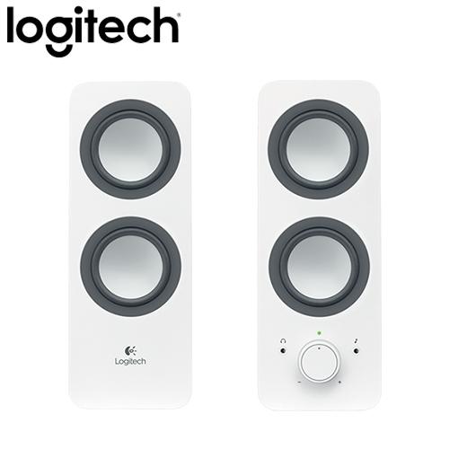 Logitech 羅技 Z200 2.0聲道 多媒體揚聲器 白