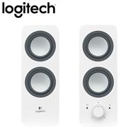 Logitech 羅技 Z200 2.0聲道 2件式 多媒體喇叭 白 【時尚簡約款】